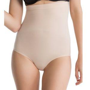 SPANX High Waisted Shaper Soft Nude Panties Sz:XL